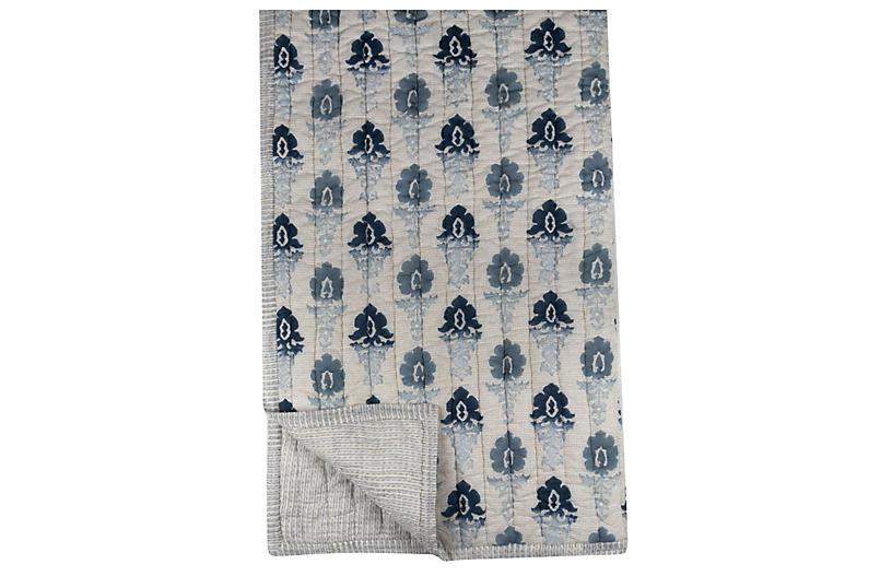 Renaissance Quilt, Blue