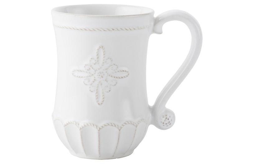 Jardins du Monde Coffee Mug, White