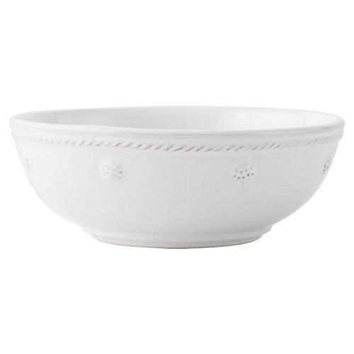 Berry & Thread Coupe Bowl, White
