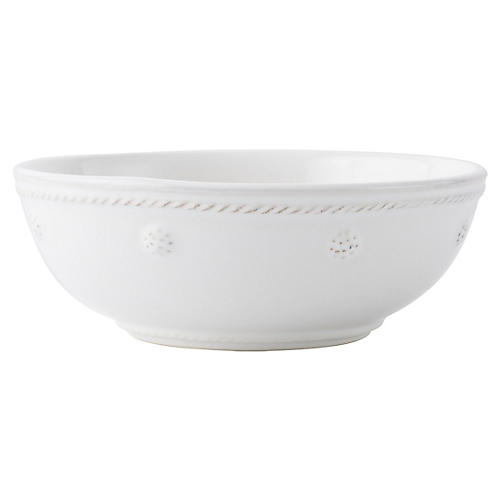 Berry & Thread Coupe Bowl, White