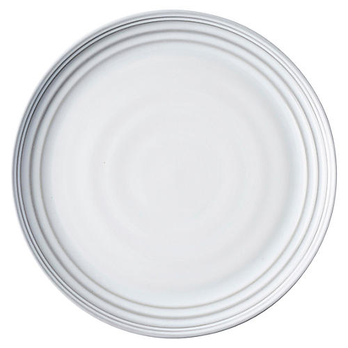 Bilbao Dinner Plate, White Truffle