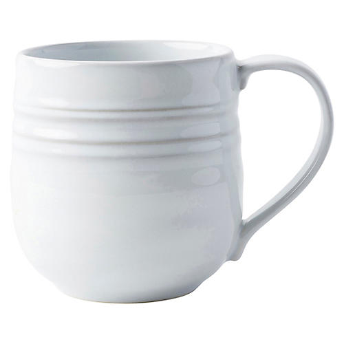 Bilbao Coffee Mug, White Truffle
