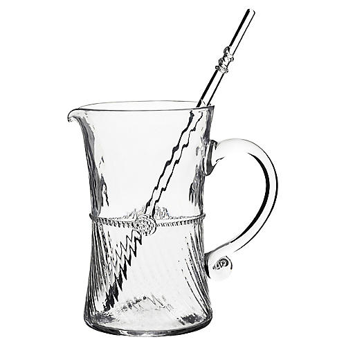 2-Pc Graham Pitcher, Clear