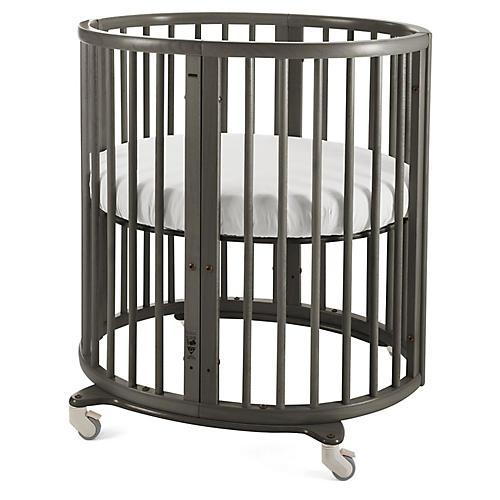 Sleepi Mini Crib, Hazy Gray