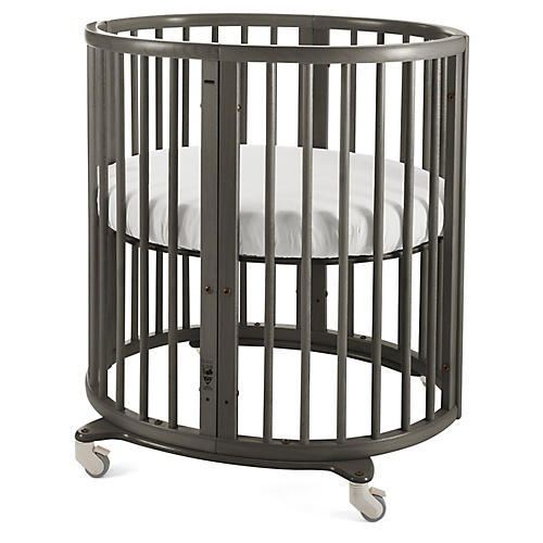 Sleepi Mini Crib, Hazy Gray