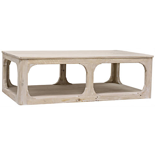 Gismo Coffee Table, Graywash