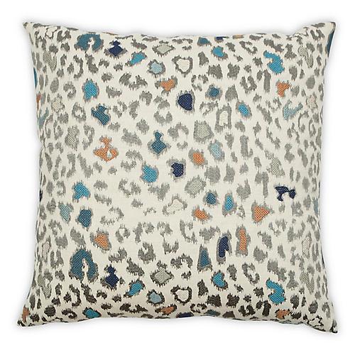 Ston 22x22 Pillow, Pebble