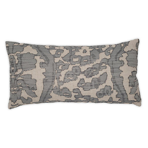 Goag 12x24 Pillow, Gunmetal