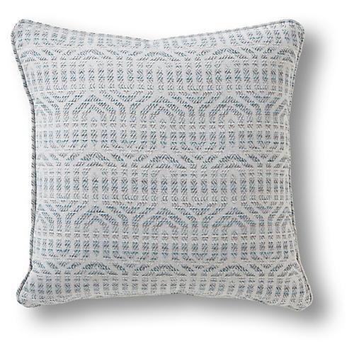 Barkley 19x19 Pillow, Seafoam