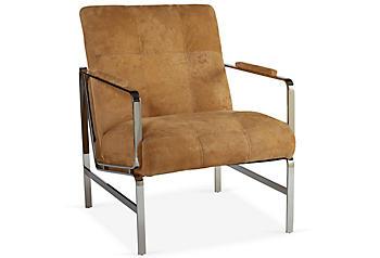 Massoud Padded Chair One Kings Lane