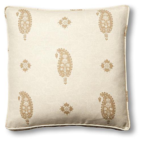 Ojai 19x19 Box Pillow, Natural