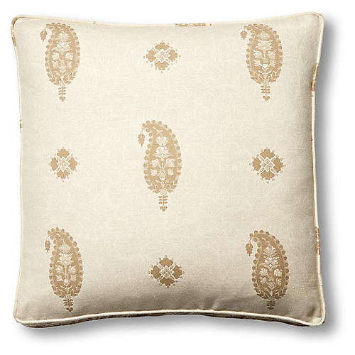 Ojai 19x19 Box Pillow, Natural
