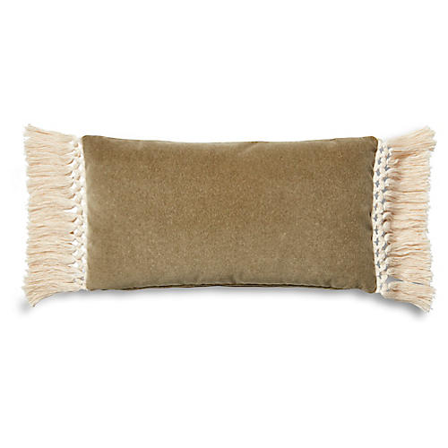 Catherine 12x23 Lumbar Pillow, Moss