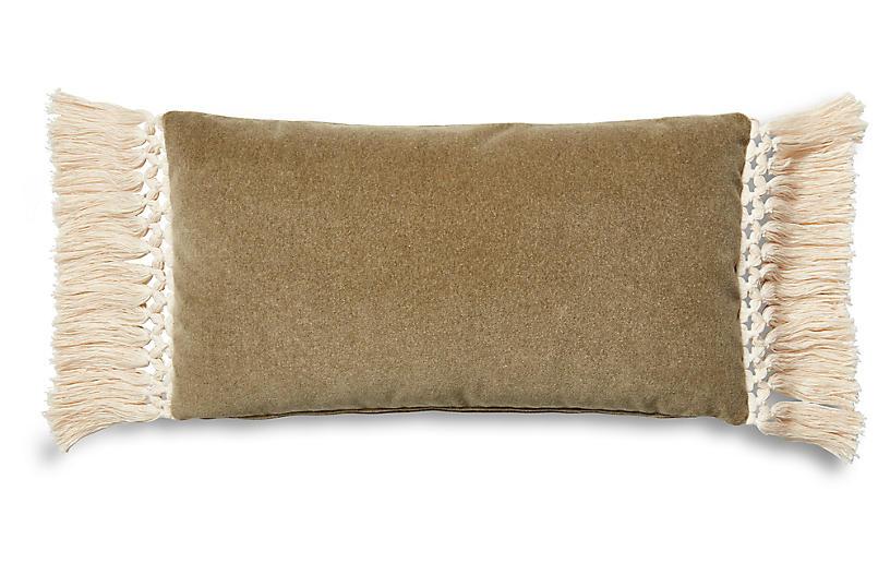 Catherine 12x23 Lumbar Pillow, Moss