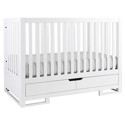 Owen Crib, White