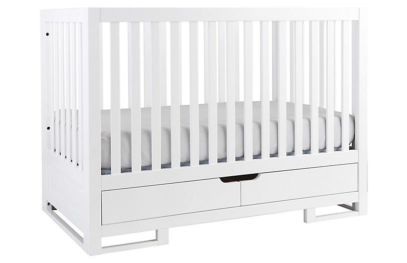 Owen Crib, White