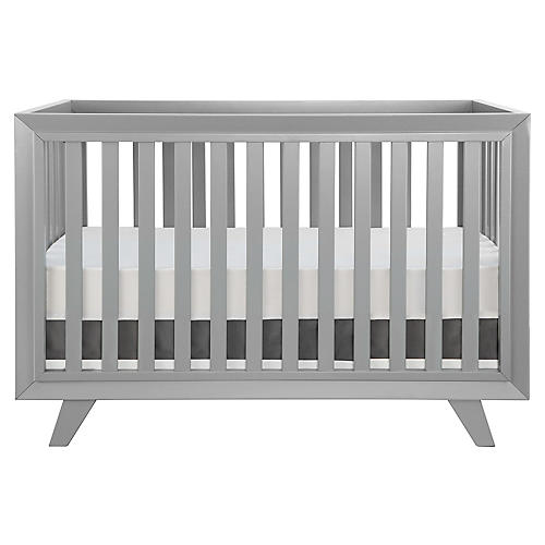 Whitney Crib, Moon Gray