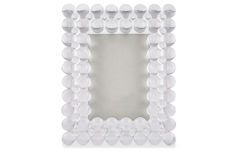 Corina Bubble Frame, Crystal