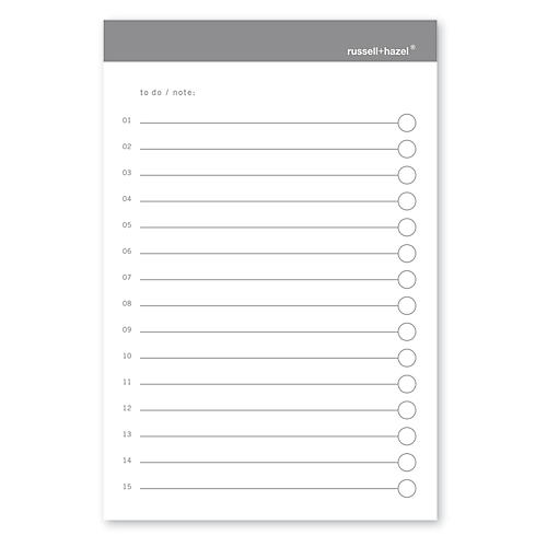 To-Do Adhesive Notes