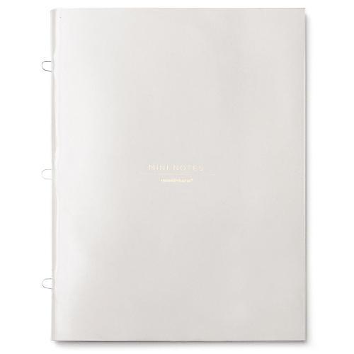 Mini Notebook, Tan