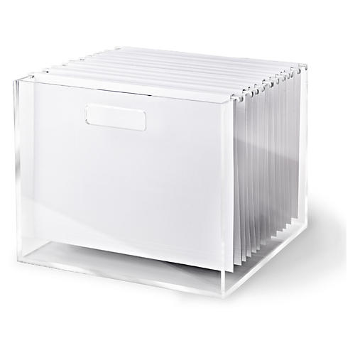 Acrylic File Box