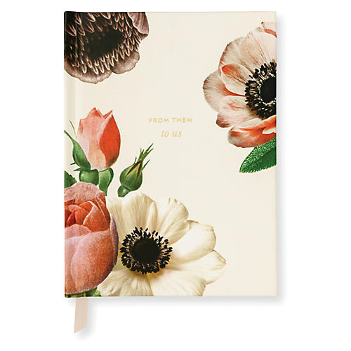 Bridal Gift Log, Cream/Multi