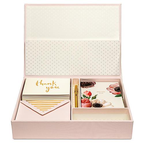Blush Keepsake Box, Blush/Multi
