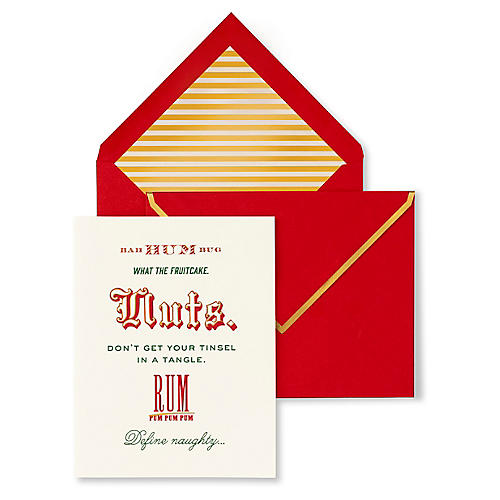 S/10 Bah Humbug Holiday Card Set