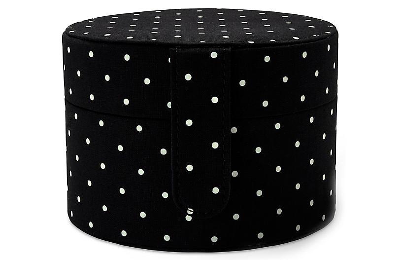 Dots Jewelry Organizer, Black/White