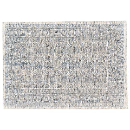 Elliott Hand-Loomed Rug, Blue