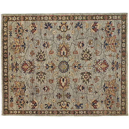 Elwira Rug, Green/Gray