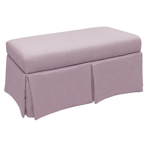 Hayworth Storage Bench, Lilac