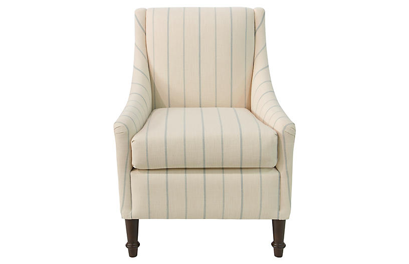 Holmes Accent Chair, Pommes