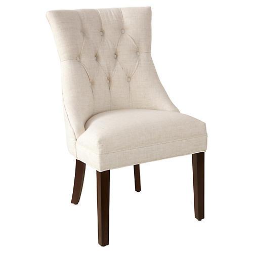 Noah Side Chair, Talc