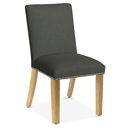 Kean Side Chair, Charcoal