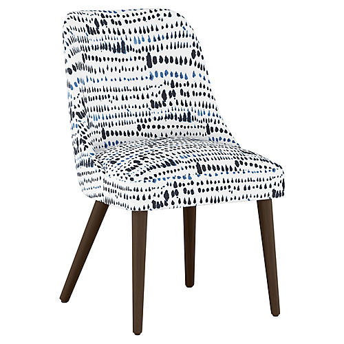 Barron Side Chair, Robin Blue