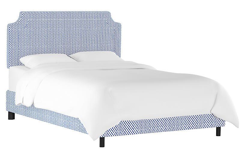 Morgan Bed, Navy Dot