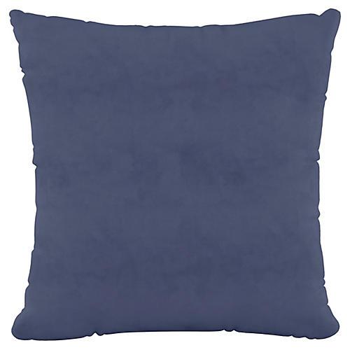 Vero 20x20 Pillow, Ocean Velvet