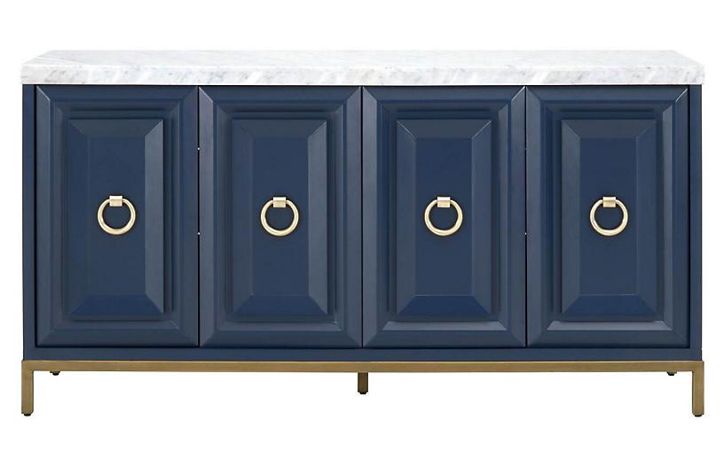 Gresham Sideboard, Navy Blue