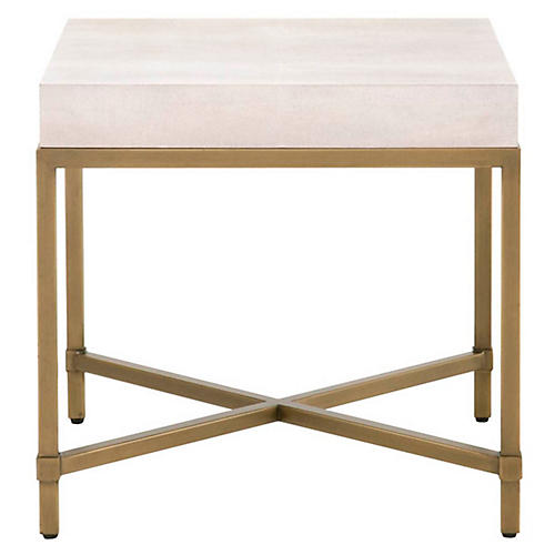 Ora Side Table, White