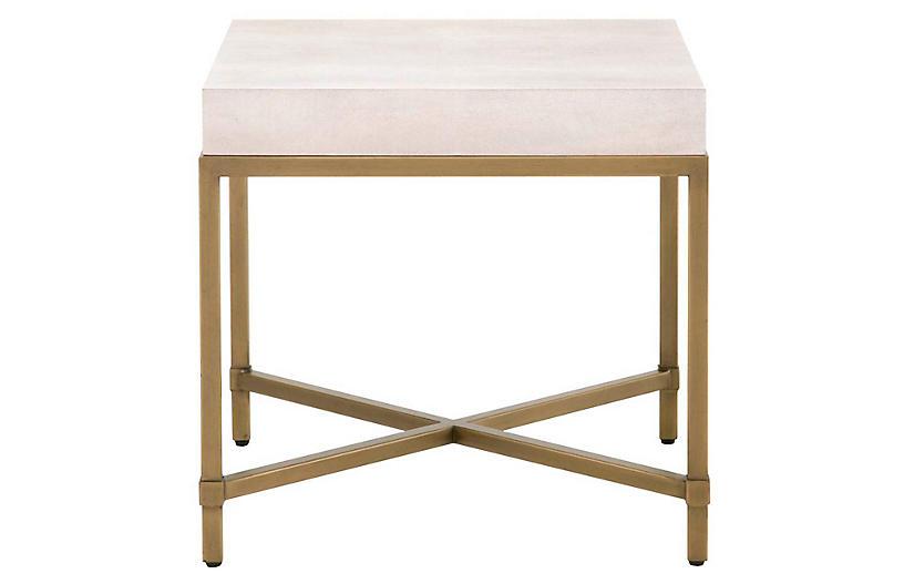 Ora Side Table, White