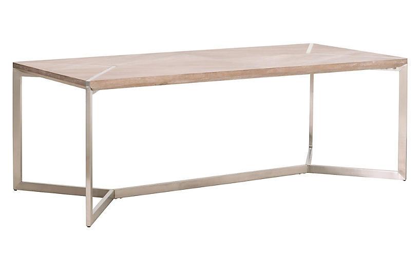 Sorrel Dining Table, Natural Gray