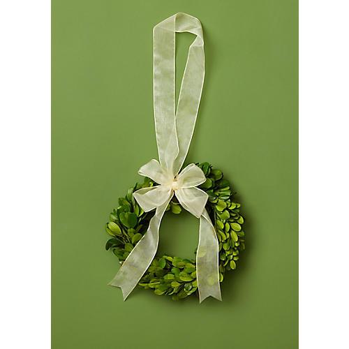 """6"""" Prancer Wreath, Preserved"""