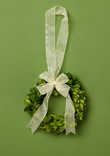 "6"" Prancer Wreath, Preserved"