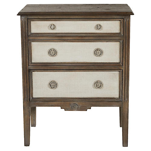 Holly Dresser Distressed Gray
