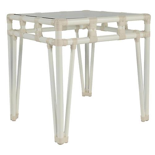 Nantucket Side Table, White