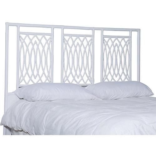 Beckham Headboard, White