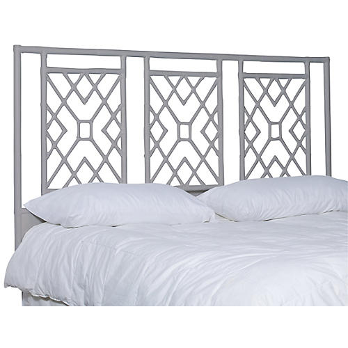 Camden Headboard, Light Gray