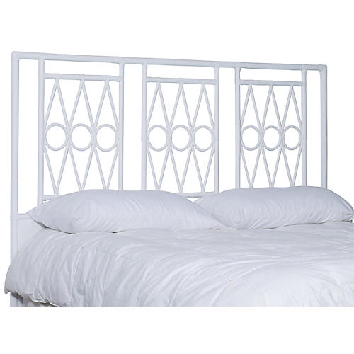 Devonshire Headboard, White