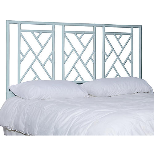 Alden Headboard, Light Blue